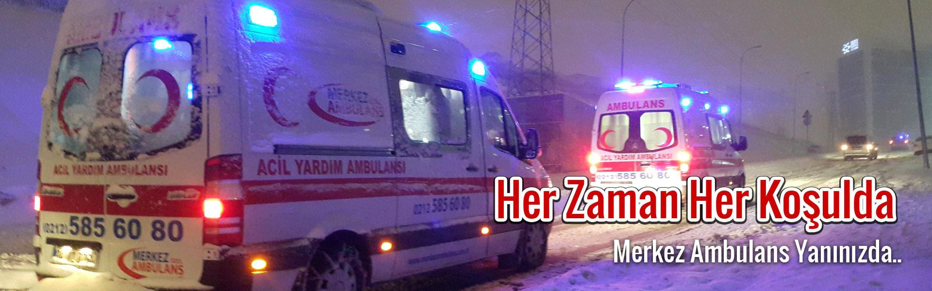 merkez-ozel-ambulans-acil-yardim-ambulanslari-karda-hastaya-ilk-yardima-gidiyor